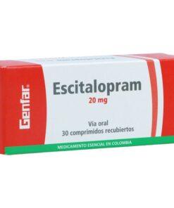 Thuốc Cipralex 20mg Escitalopram điều trị triệu chứng trầm cảm và rối loạn lo âu (1)