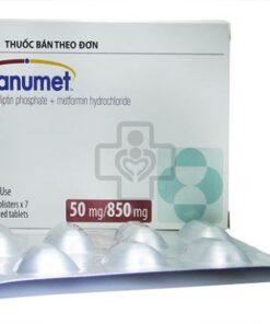 Thuốc Janumet 50/850mg Metformin điều trị bệnh đái tháo đường (2)